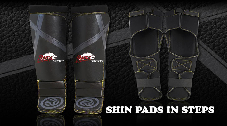 Shin Pads In Steps